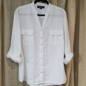 Women's Summery Button-up Blouse